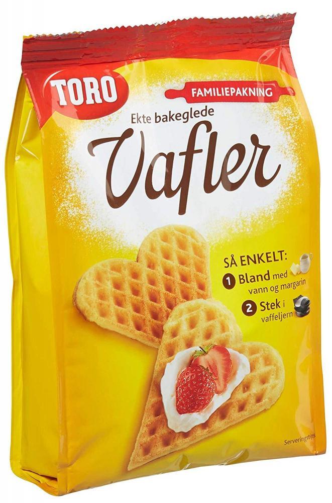 Toro Vafler Waffle Mix 246g