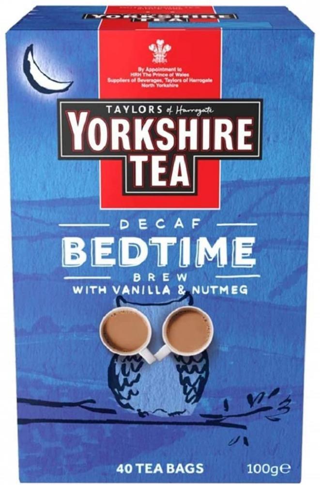 Yorkshire Tea Bedtime Brew Tea 40 Tea Bags