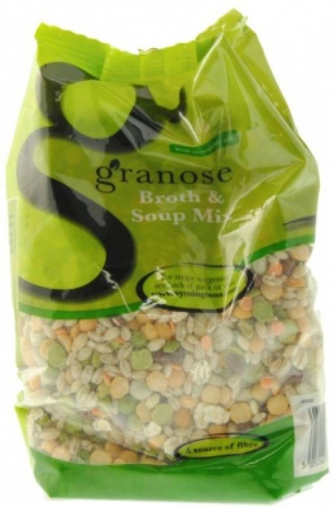 CASE PRICE  Granose Broth and Soup Mix 500g x 4