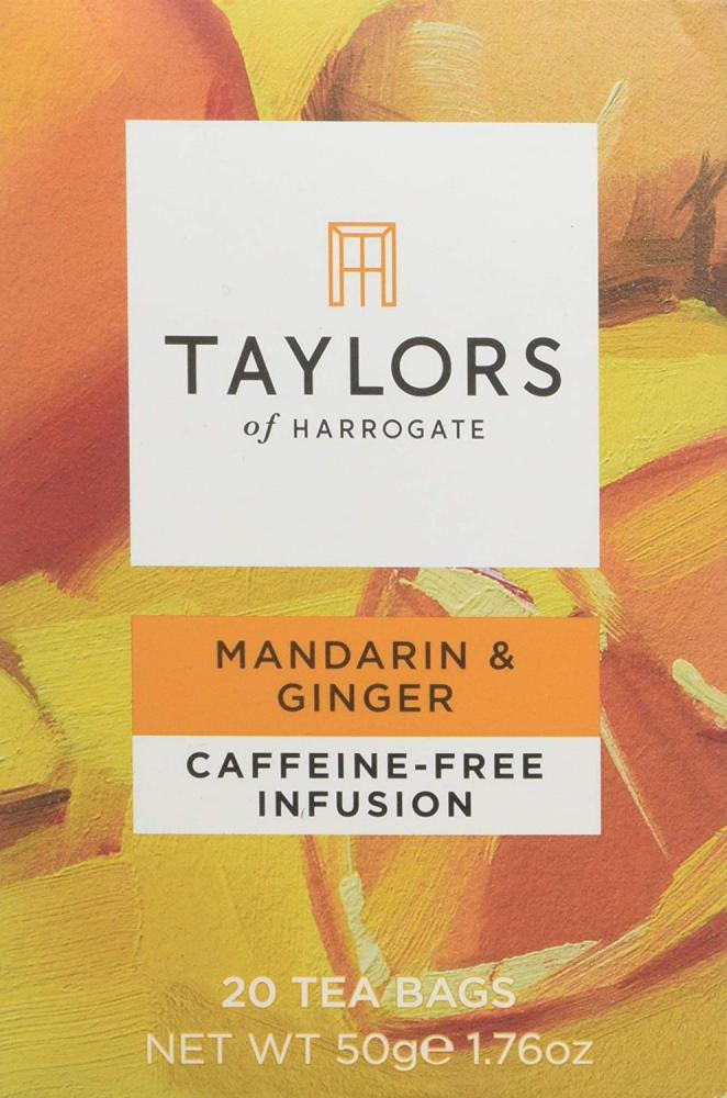 Taylors Of Harrogate Mandarin and Ginger Infusion Tea 20 Teabags