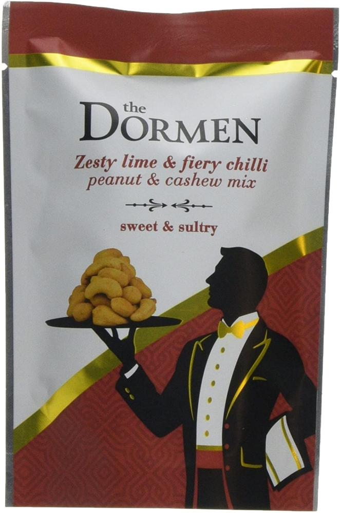 The Dormen Zesty Lime and Fiery Chilli Peanut and Cashew Mix 100g
