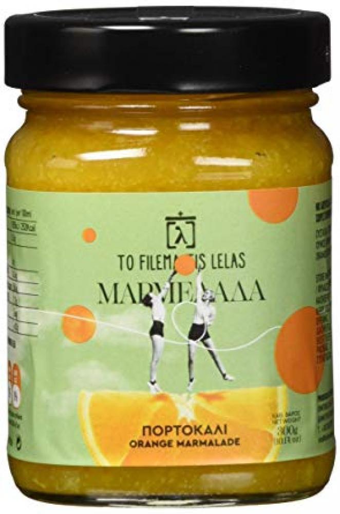 To Filema Tis Lelas Handmade Orange Marmelade 300g