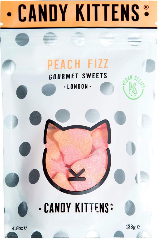 Candy Kittens Gourmet Sweets Peach Fizz 138 g
