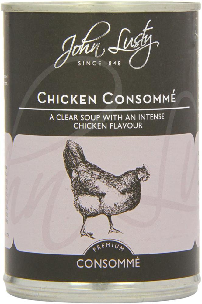John Lusty Chicken Consomme 392g