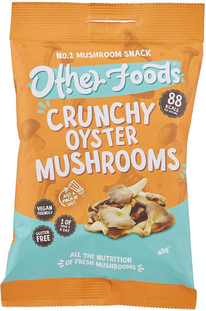 Other Foods Crunchy Oyster Mushroom Snack 40 g