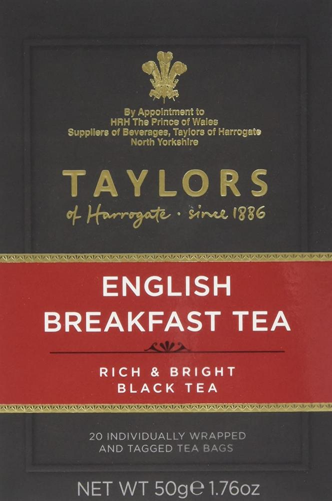 Taylors Of Harrogate English Breakfast Tea 20 teabags