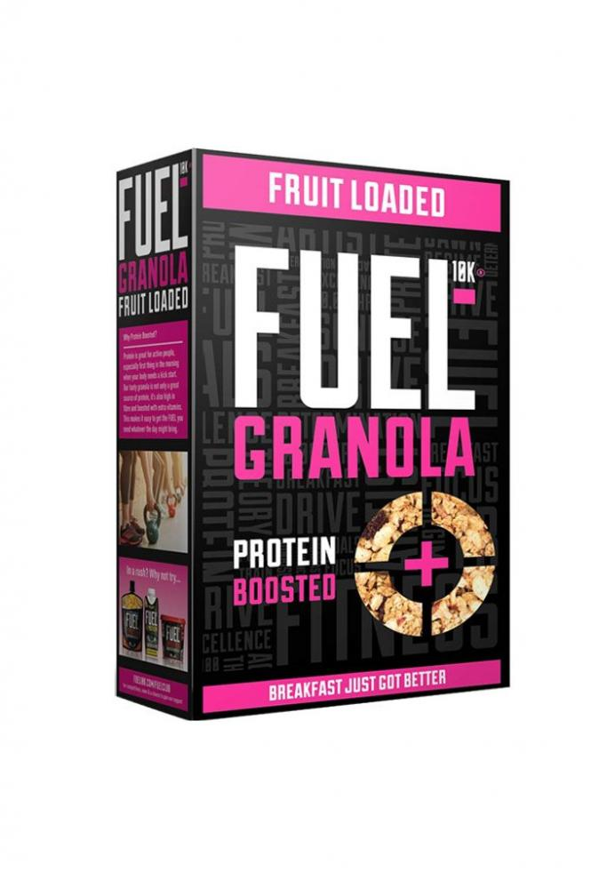 Fuel 10K Protein Boosted Chunky Granola - Fruit Loaded 400 g