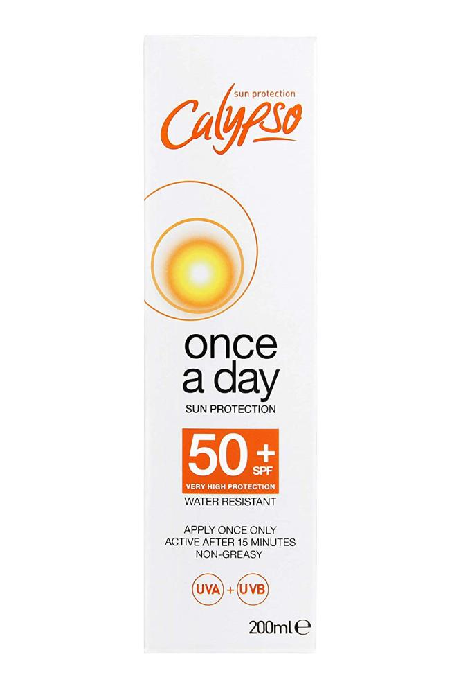 Calypso Once a Day Sun Protection Lotion with SPF 50 150 ml