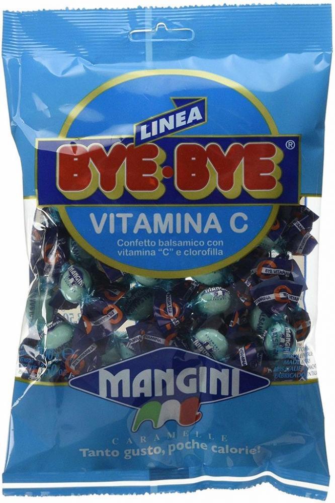 Mangini Bye Bye Vitamina C Candies 100g