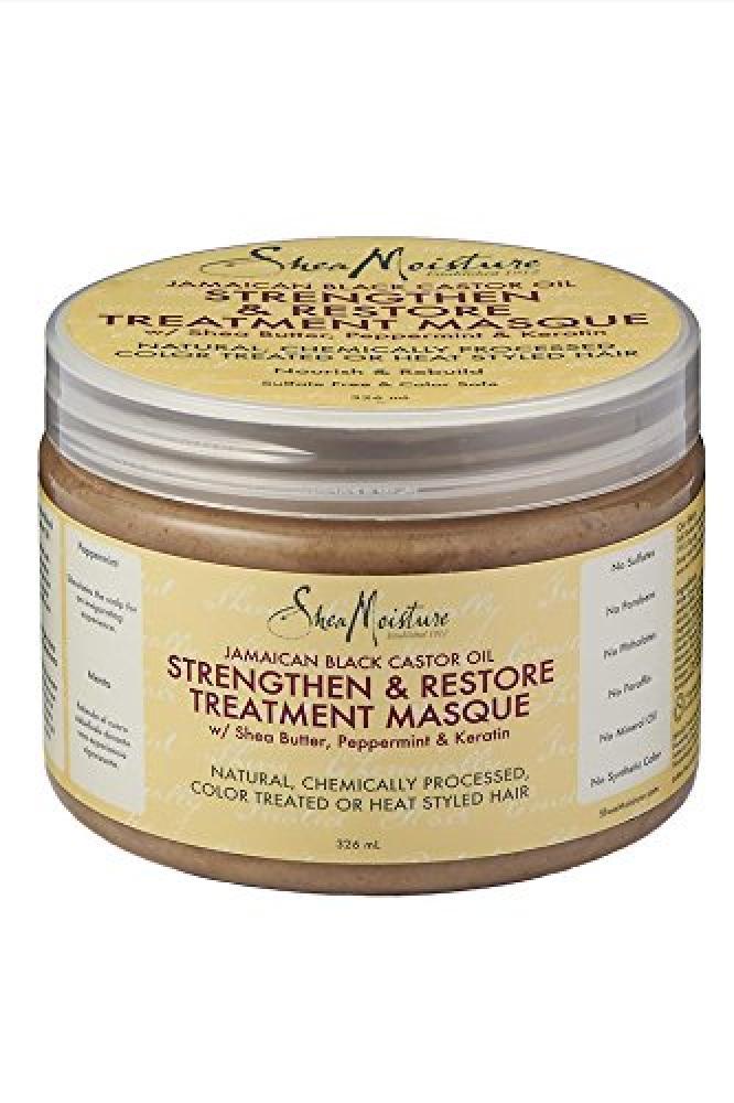 Shea Moisture Jamaican Black Castor Oil StrengthenGrow and Restore Treatment Masque 355ml