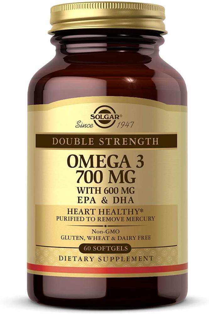 Solgar Omega-3 Double Strength Softgels 60 tablets