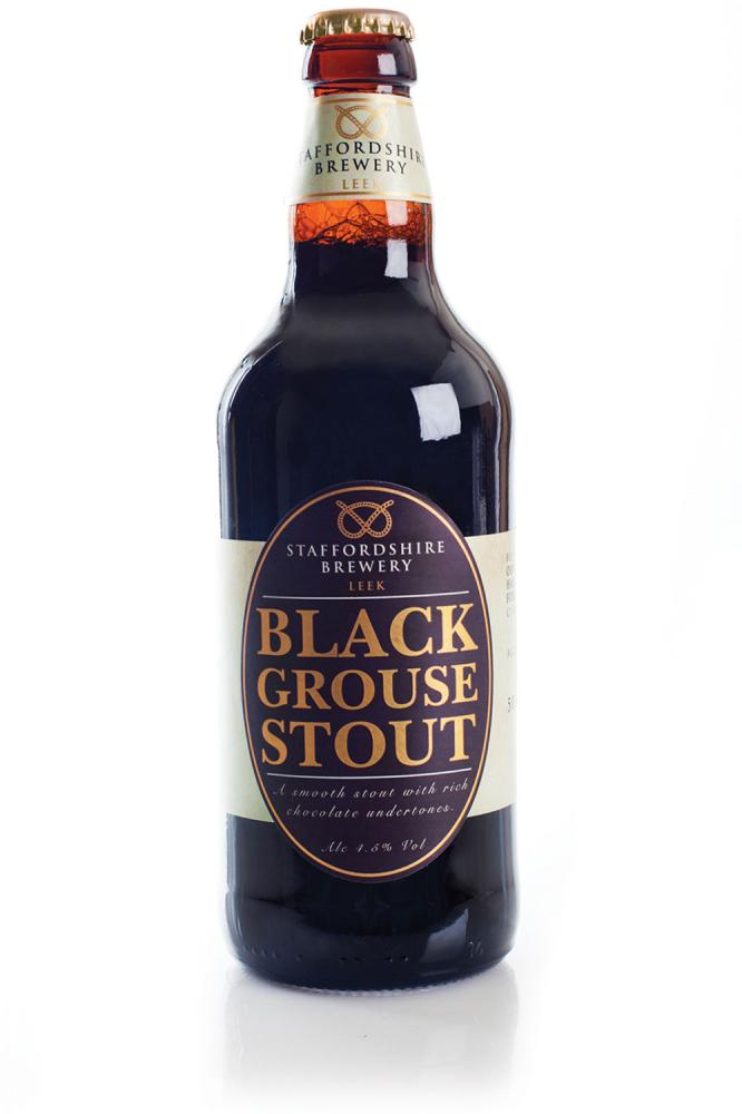 Staffordshire Brewery Black Grouse Stout 500ml