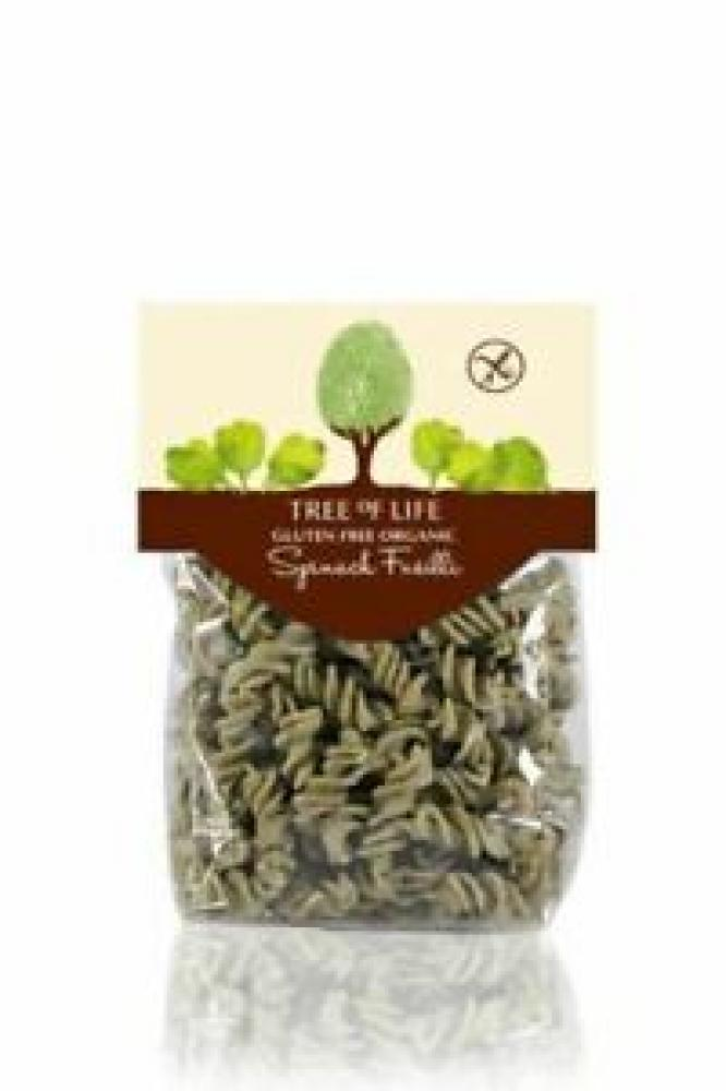 Tree Of Life Organic Spinach Fusilli 250g