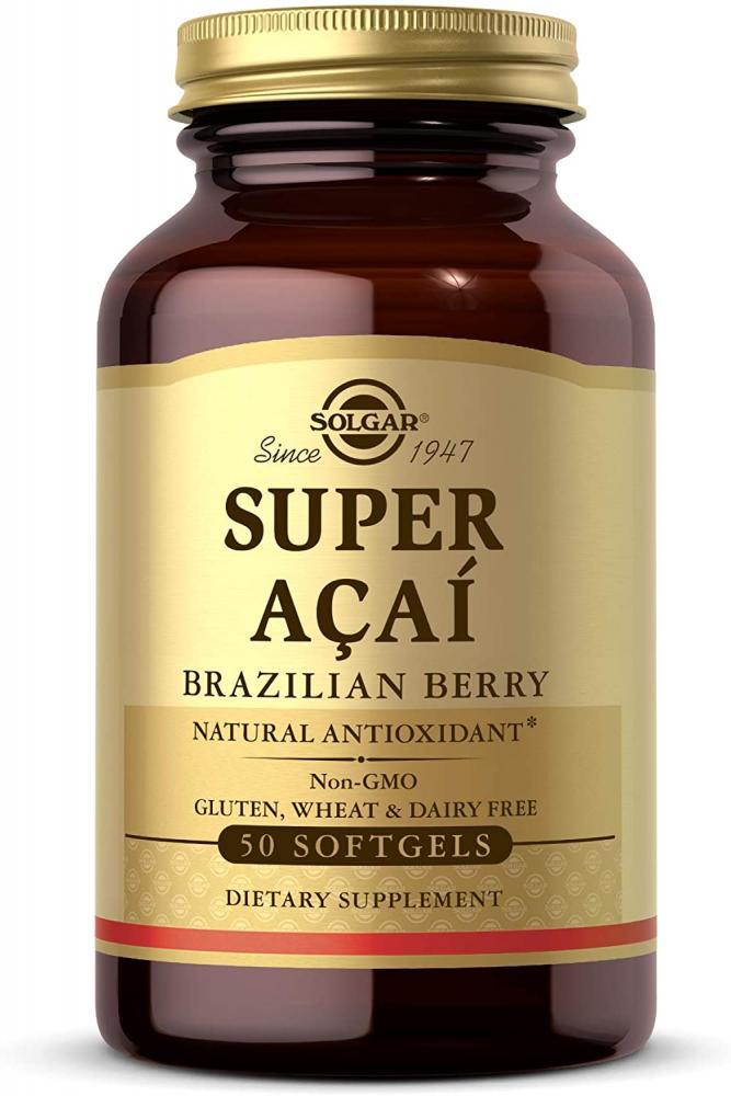 Solgar Super Acai Extract Softgels Pack of 50
