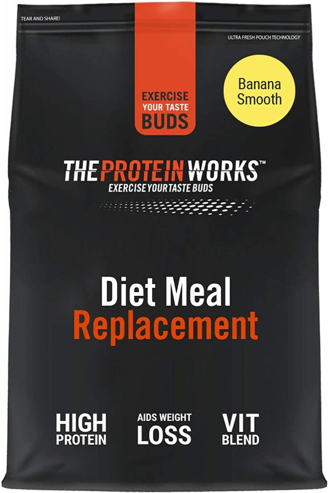 The Protein Works Diet Meal Replacement Shake Banana Smooth 1 kg