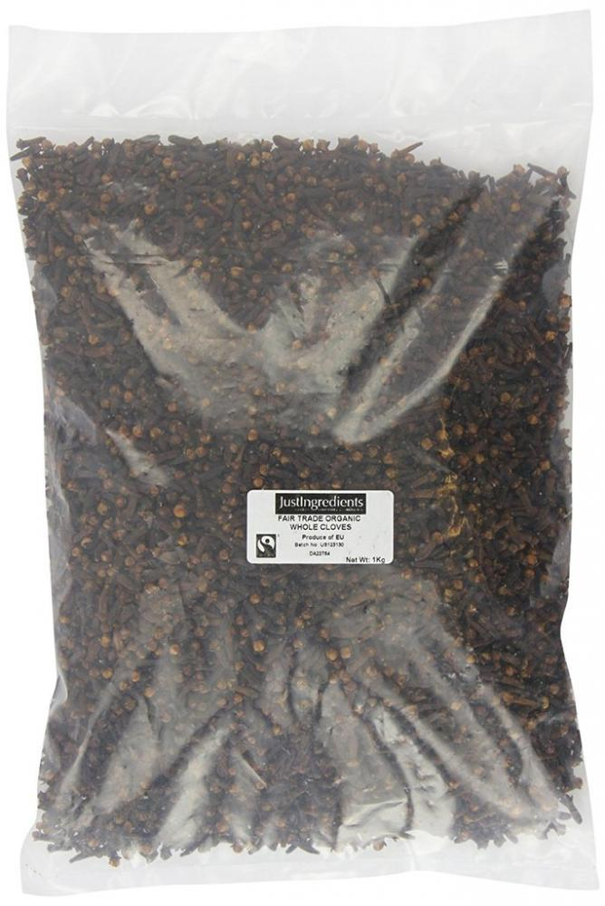 Just Ingredients Fairtrade Organic Whole Cloves Loose 1Kg