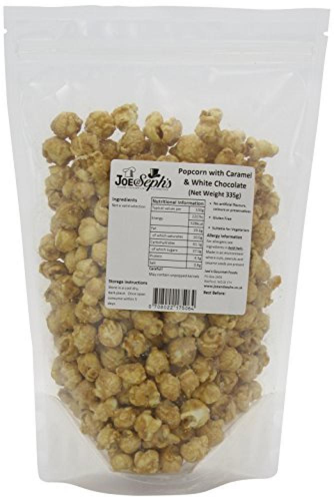 Joe and Sephs White Chocolate Popcorn Bulk Catering Pack 335 g