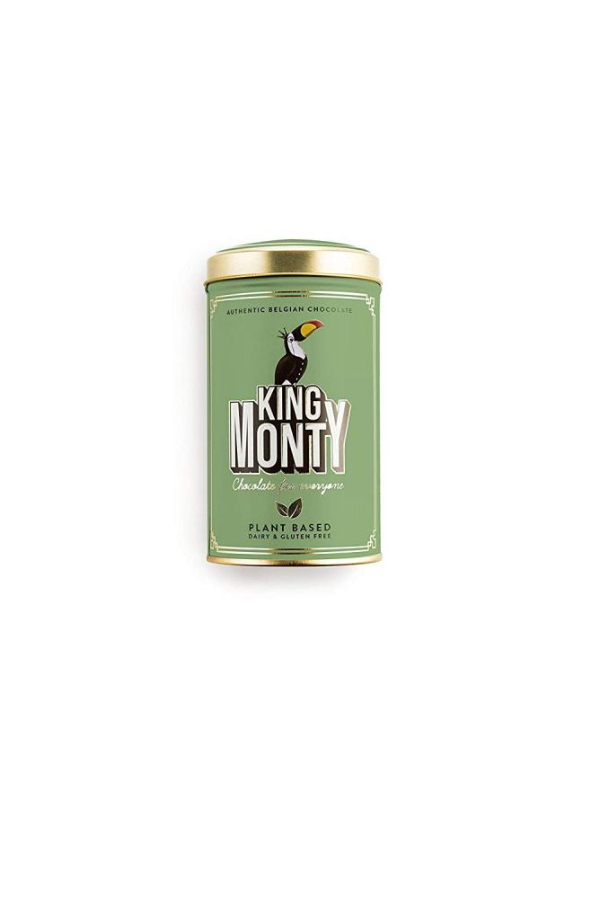 King Monty Hazelnut Crunch Tin 130 g