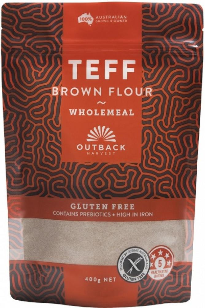 SALE  Outback Wholemeal Brown Flour 400g