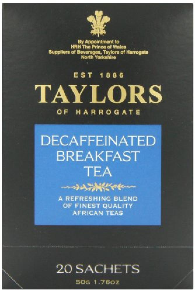 Taylors Of Harrogate Decaffeinated Breakfast Tea 50g