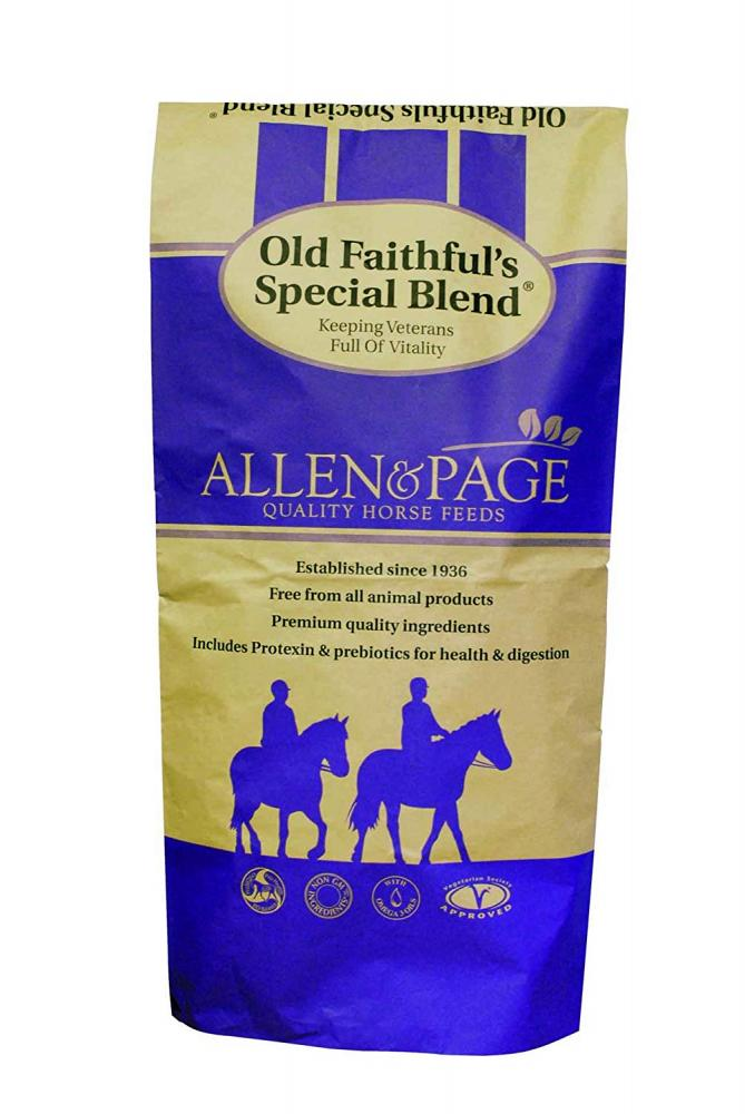Allen and Page Old Faithfuls Special Blend Horse Feed 20kg