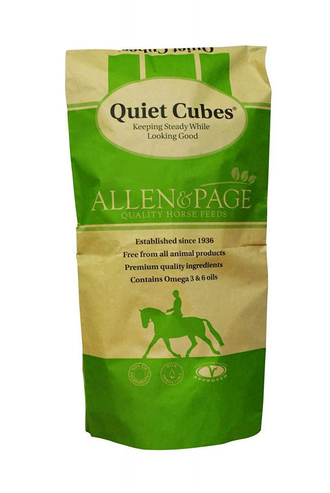 Allen and Page Quiet Cubes Horse Feed 20kg
