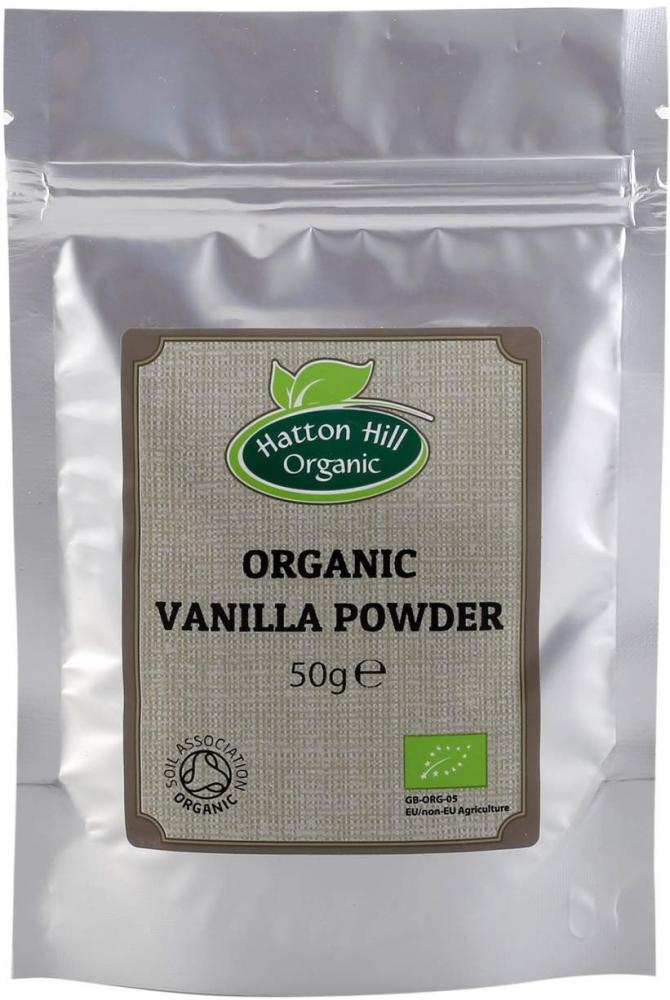 Hatton Hill Organic Vanilla Powder 50g