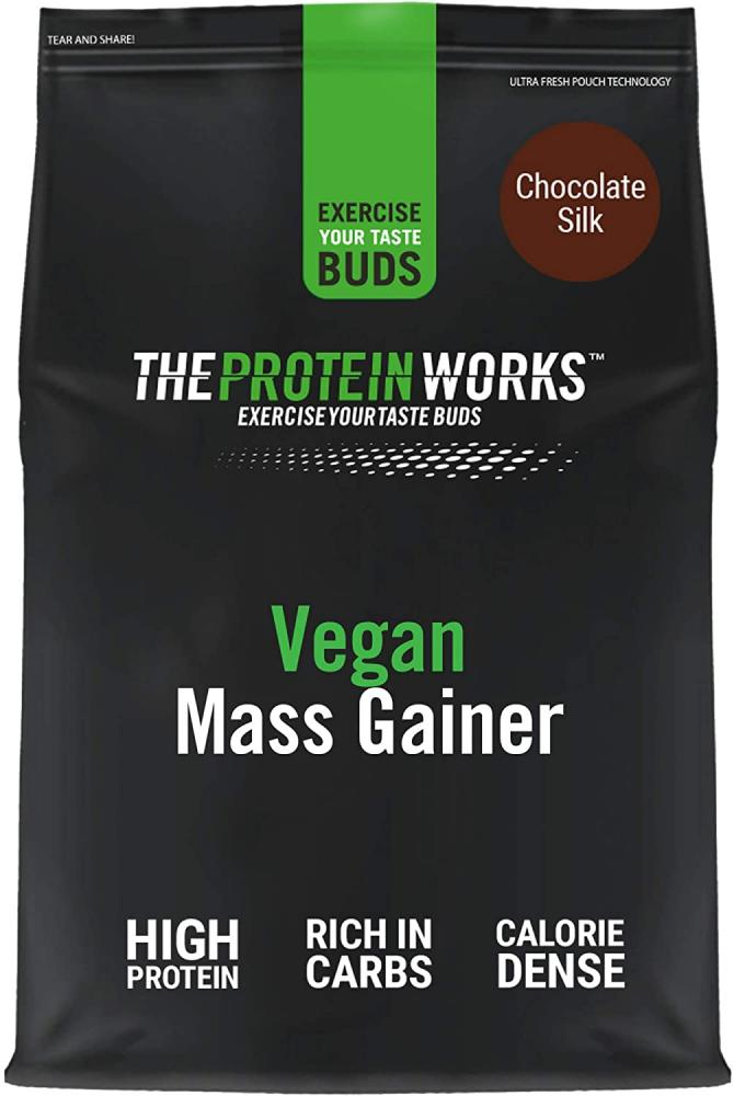 The Protein Works Vegan Mass Gainer 100 Percent Plant Based High Calorie Protein Powder 2 kg