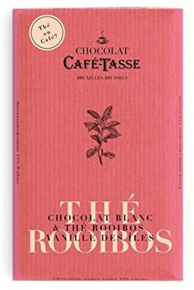 Cafe Tasse White Rooibos and Vanilla Chocolate 85g