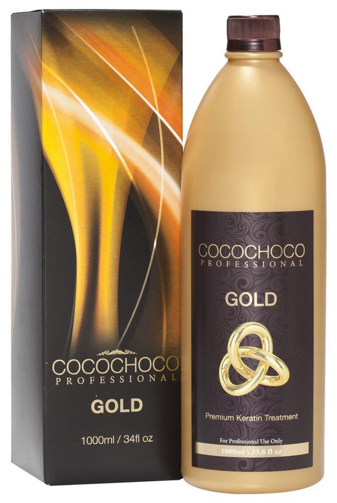 Cocochoco Professional Gold Premium Keratin Hair Treatment 1000 ml