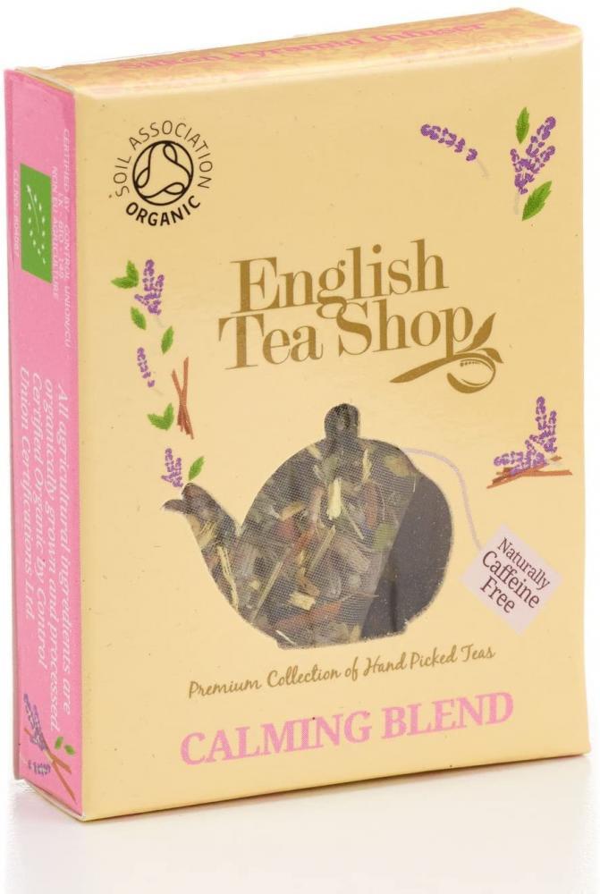 English Tea Shop Organic Fairtrade Calming Blend Pyramid Tea Bag 2 g