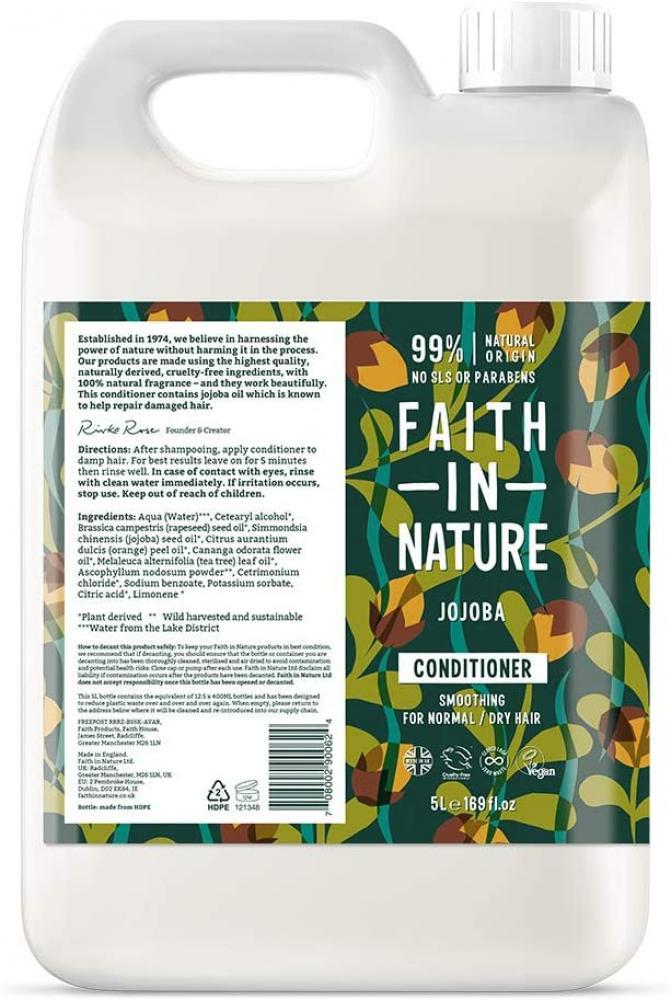 Faith In Nature Natural Jojoba Conditioner 5 L