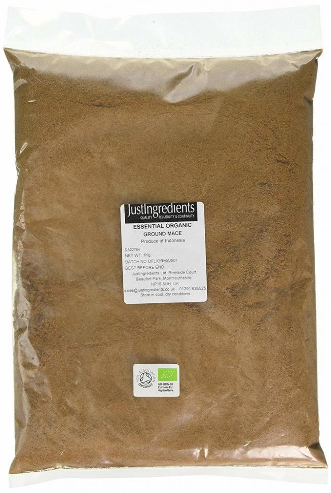 JustIngredients Organic Mace Ground 1kg