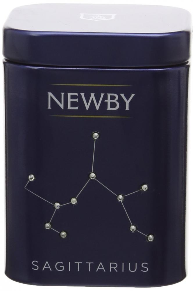 Newby Teas Zodiac Mini Caddy Sagittarius Ceylon Black Tea 25g