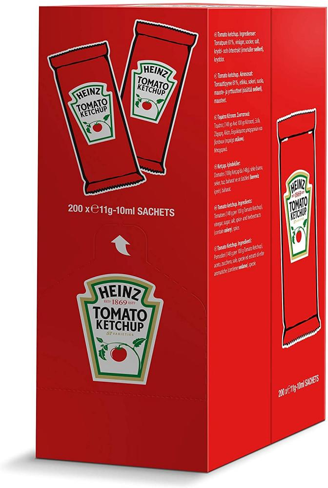 Heinz Tomato Ketchup Pack of 200