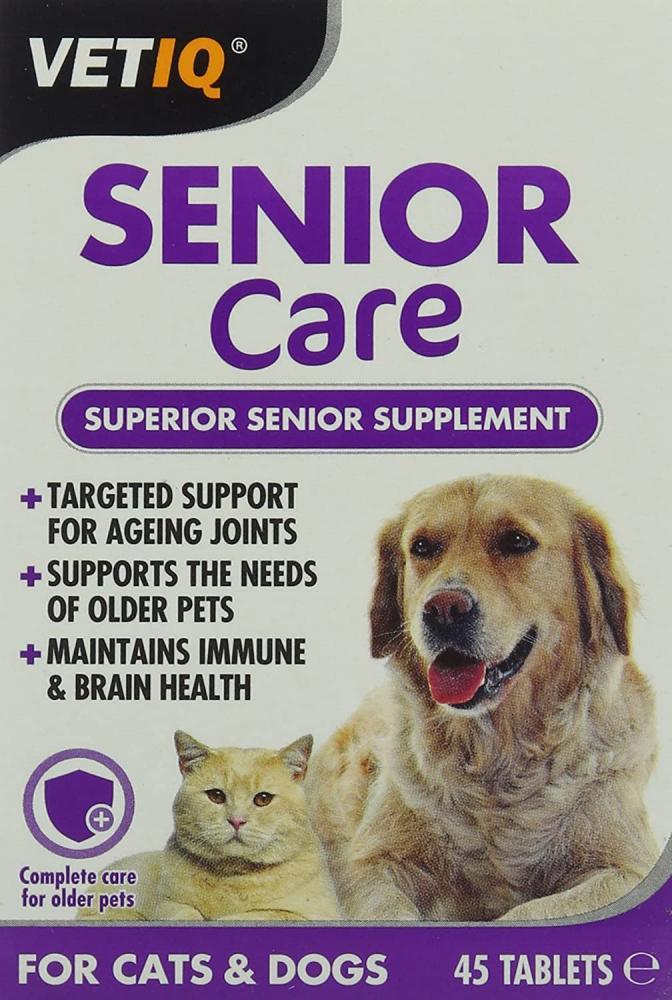 VetIQ Senior Care 45 Tablets