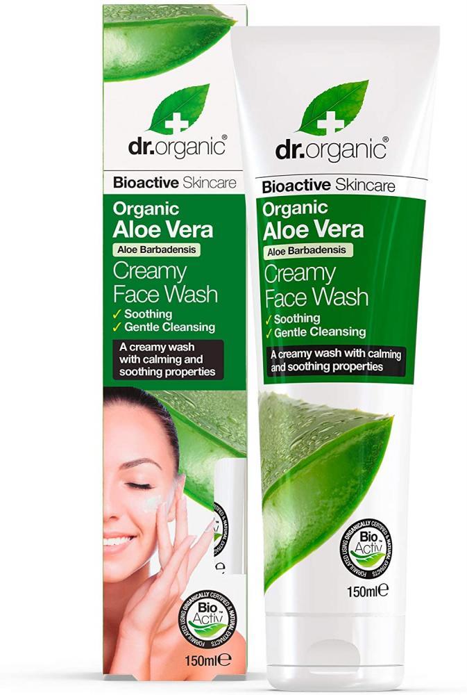 Dr Organic Aloe Vera Creamy Face Wash 150 ml