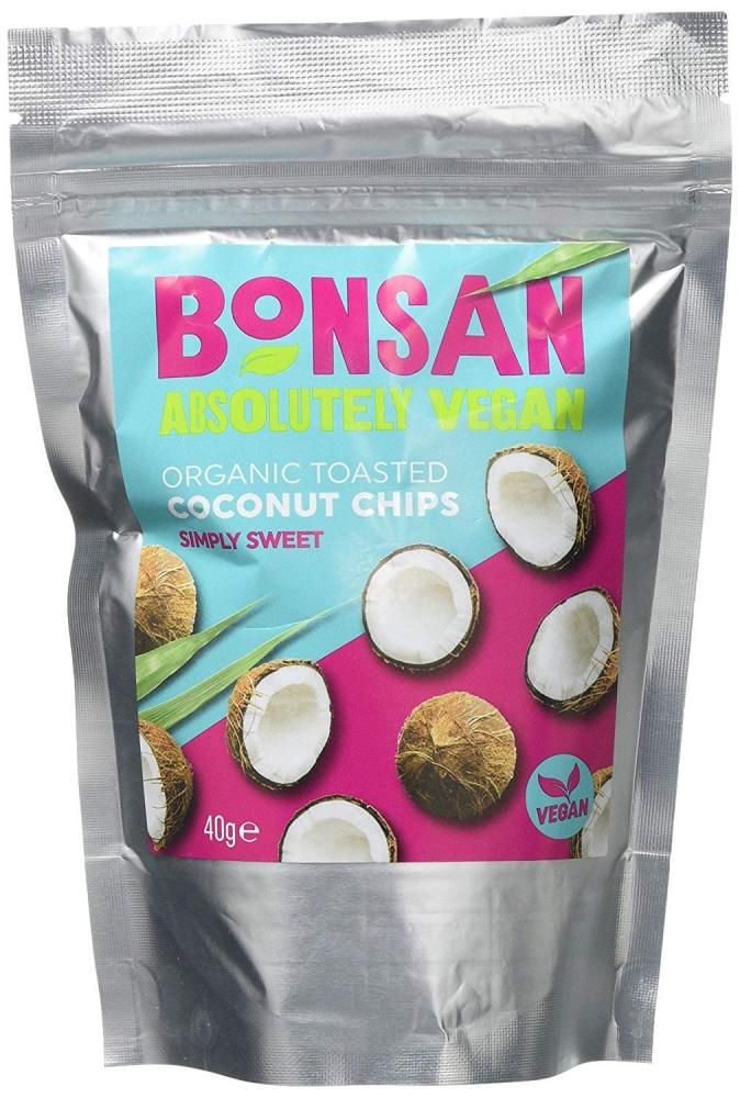 Bonsan Simply Sweet Organic Vegan Coconut Chip 40g