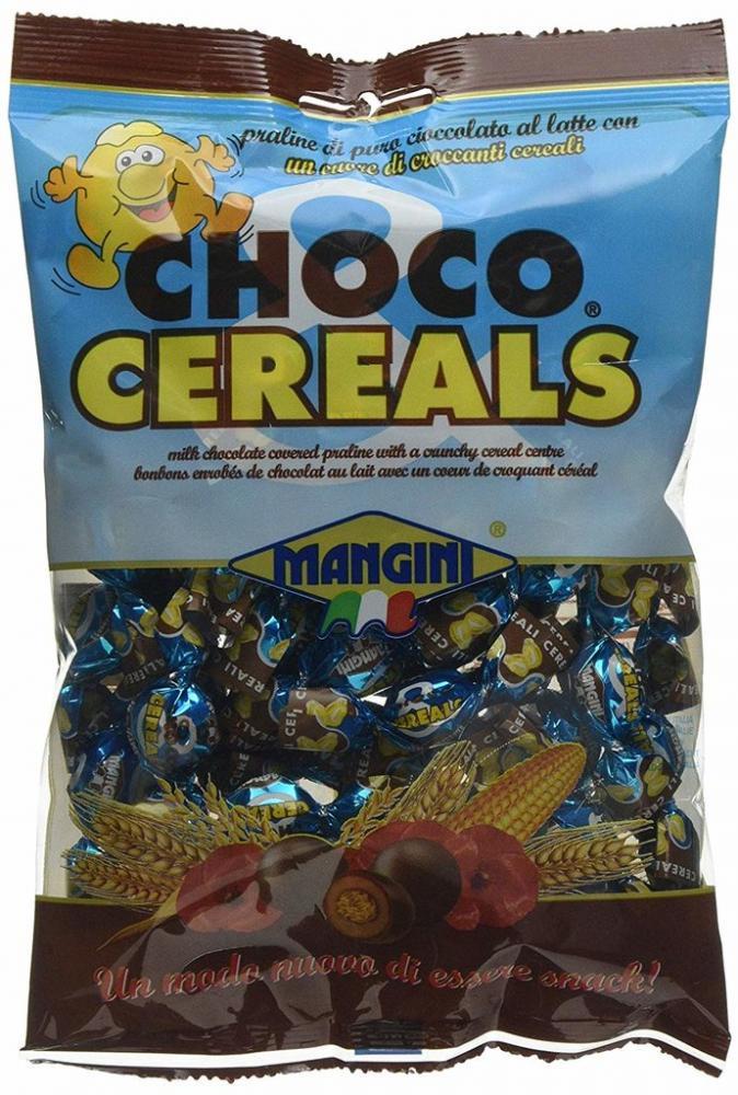 Mangini Choco and Cereals Chocolate 90g