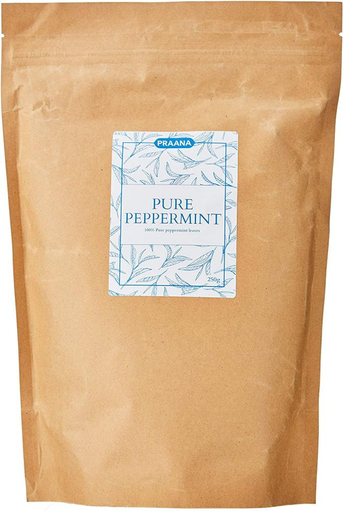 Praana Premium Peppermint 2nd cut leaf Herbal Tea 250g
