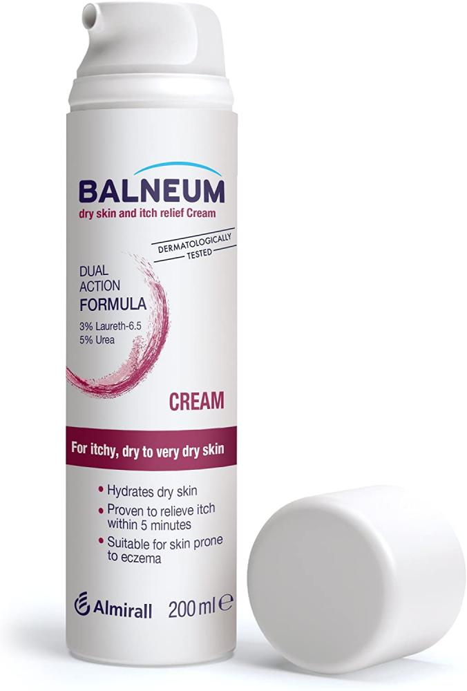 Balneum Dry Skin and Itch Relief Cream 200ml