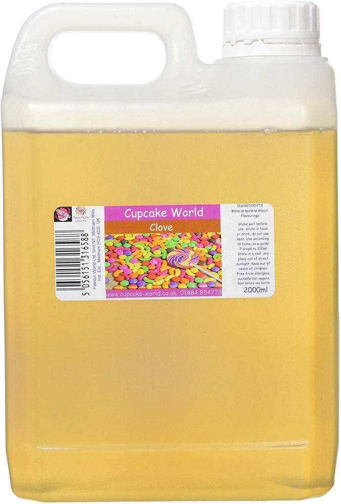 Cupcake World Intense Food Flavouring 2000 ml
