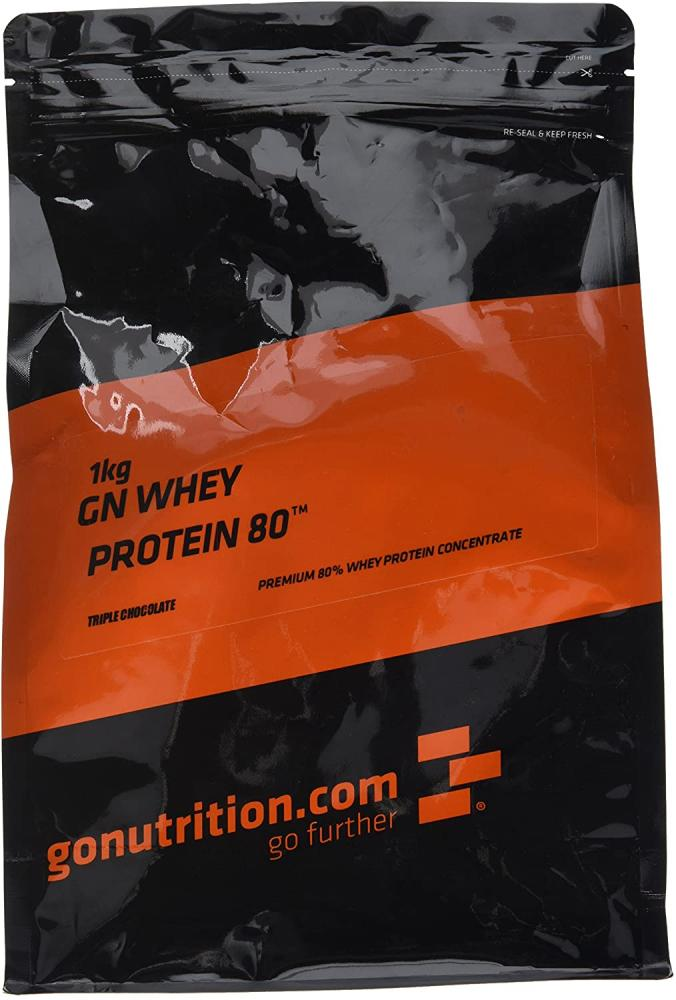 GoNutrition Triple Chocolate Whey Protein 1 kg