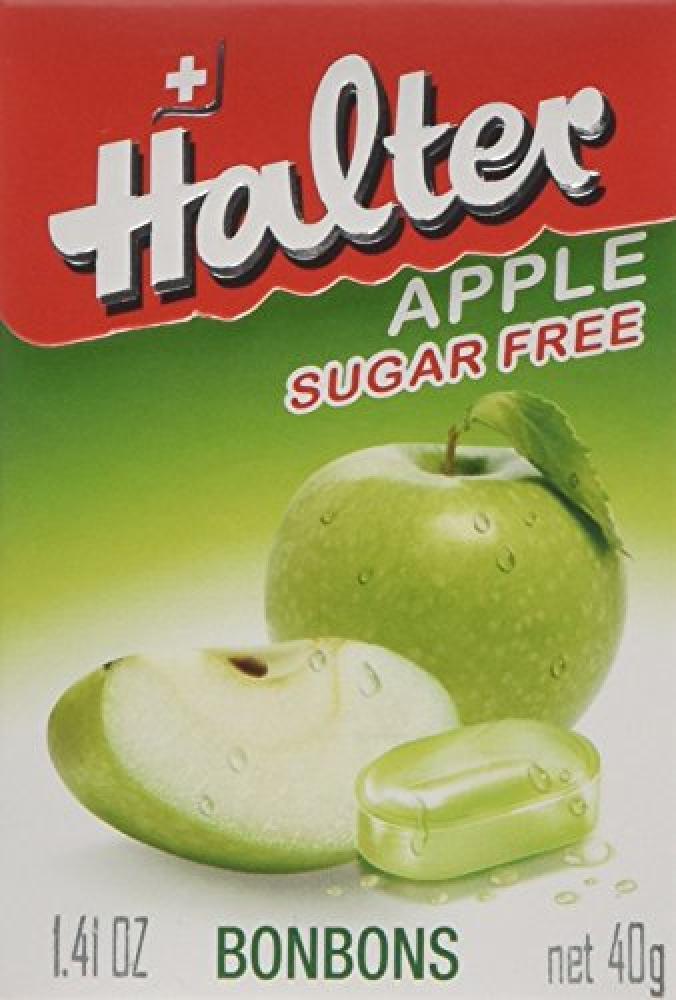 Halter Apple Sugar Free Bonbons 40g