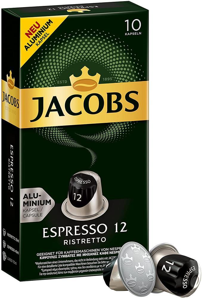 Jacobs Espresso 12 Ristretto 10 Caps