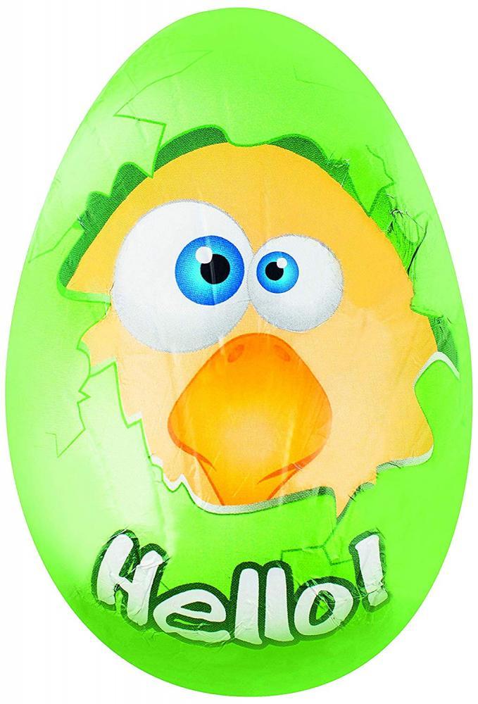 Riegelein Chocolate Funny Head Eggs 70g