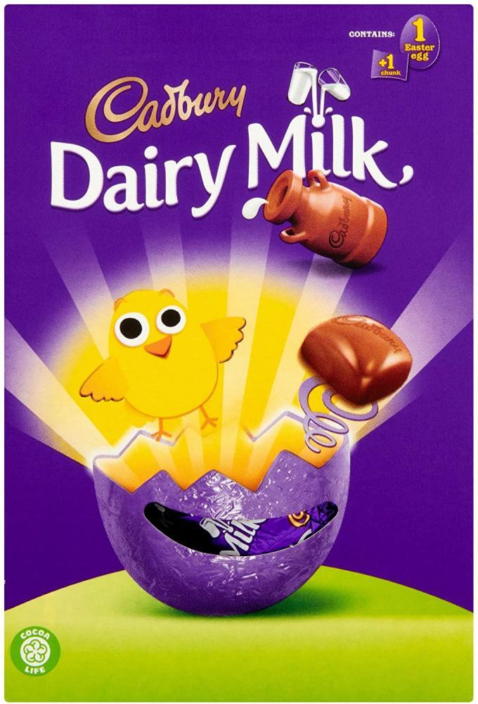 Cadbury Dairy Milk Chocolate Chunk Easter Egg 71g