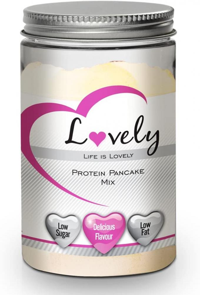 BLACK FRIDAY SPECIAL  Lovely Protein Pancakes Mix-High-Protein Breakfast Treat Delicious Flavour 450g