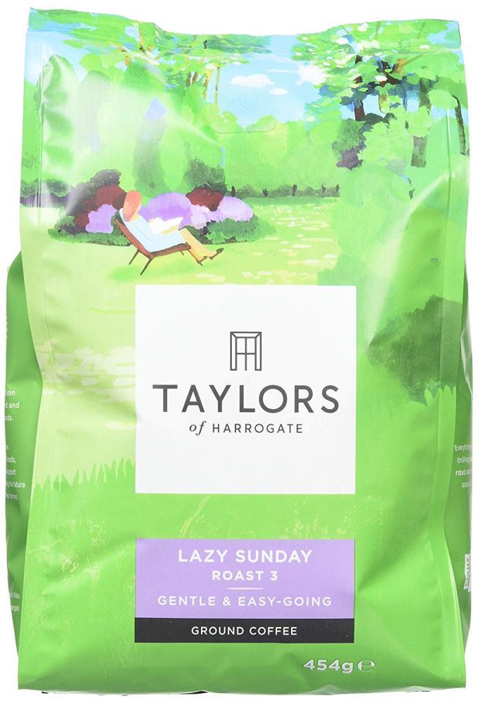 Taylors Of Harrogate Lazy Sunday Ground Coffee 454g