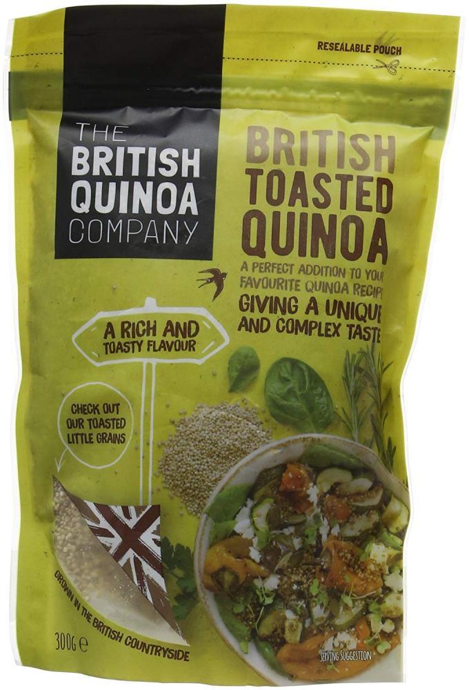 The British Quinoa Company British Toasted Quinoa 300g